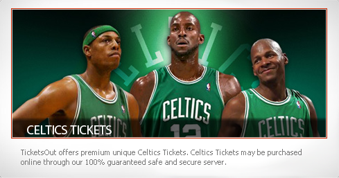 Celtics Boston Tickets