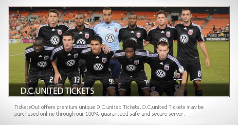 D.C United Tickets